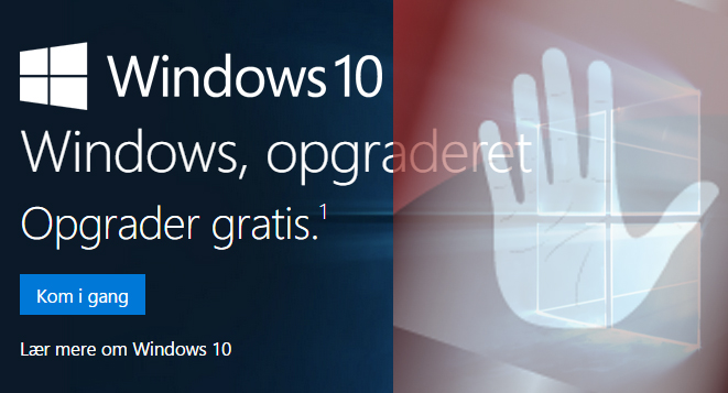 opgradere til windows 10